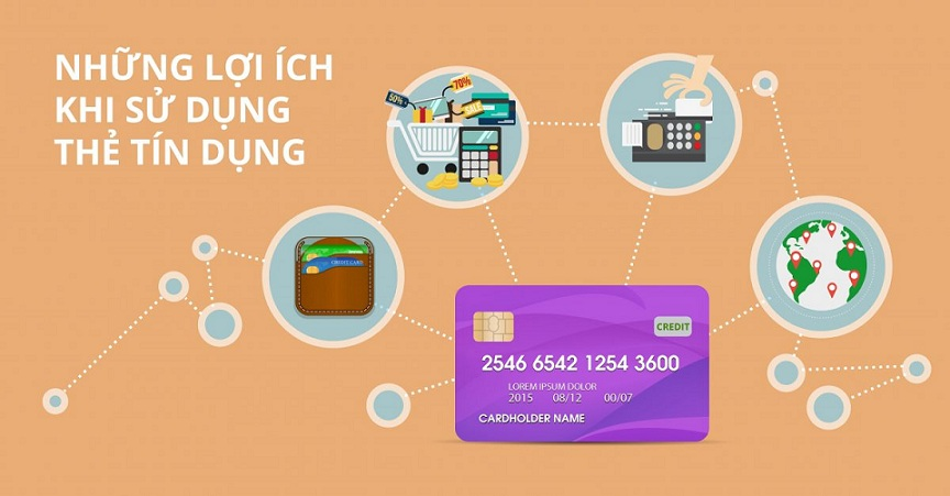 tiện tích của thẻ tín dụng