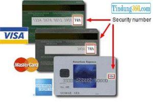 cvv của thẻ tín dụng là gì