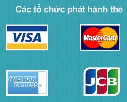 Cac to chuc phat hanh the tin dung quoc te