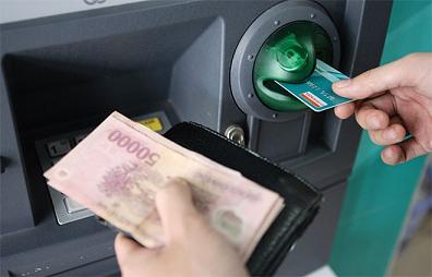 Rut tien ATM