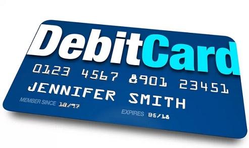 Rút tiền thẻ visa/master debit