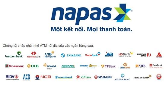 Thẻ tín dụng Napas
