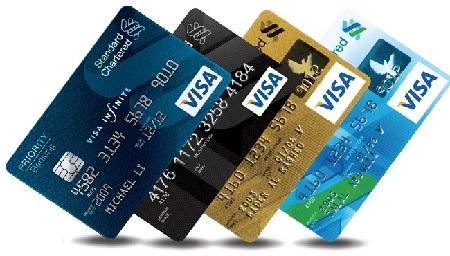Rút tiền từ thẻ visa