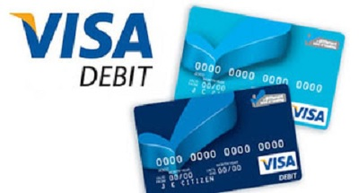 the Visa debit